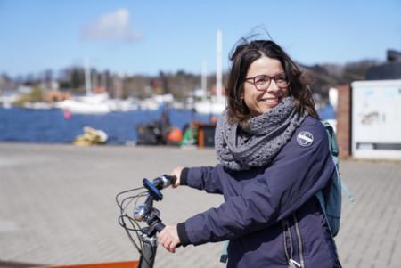 Katrin Zschau Christinenhafen Rostock Bundestagswahl 2021